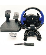 Thrustmaster T150 Force Feedback Racing Wheel With Pedals For PS4 / PS3 ... - $170.74