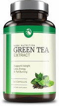 Green Tea Extract Supplement EGCG for Weight Loss Metabolism Boost Heart... - $12.75