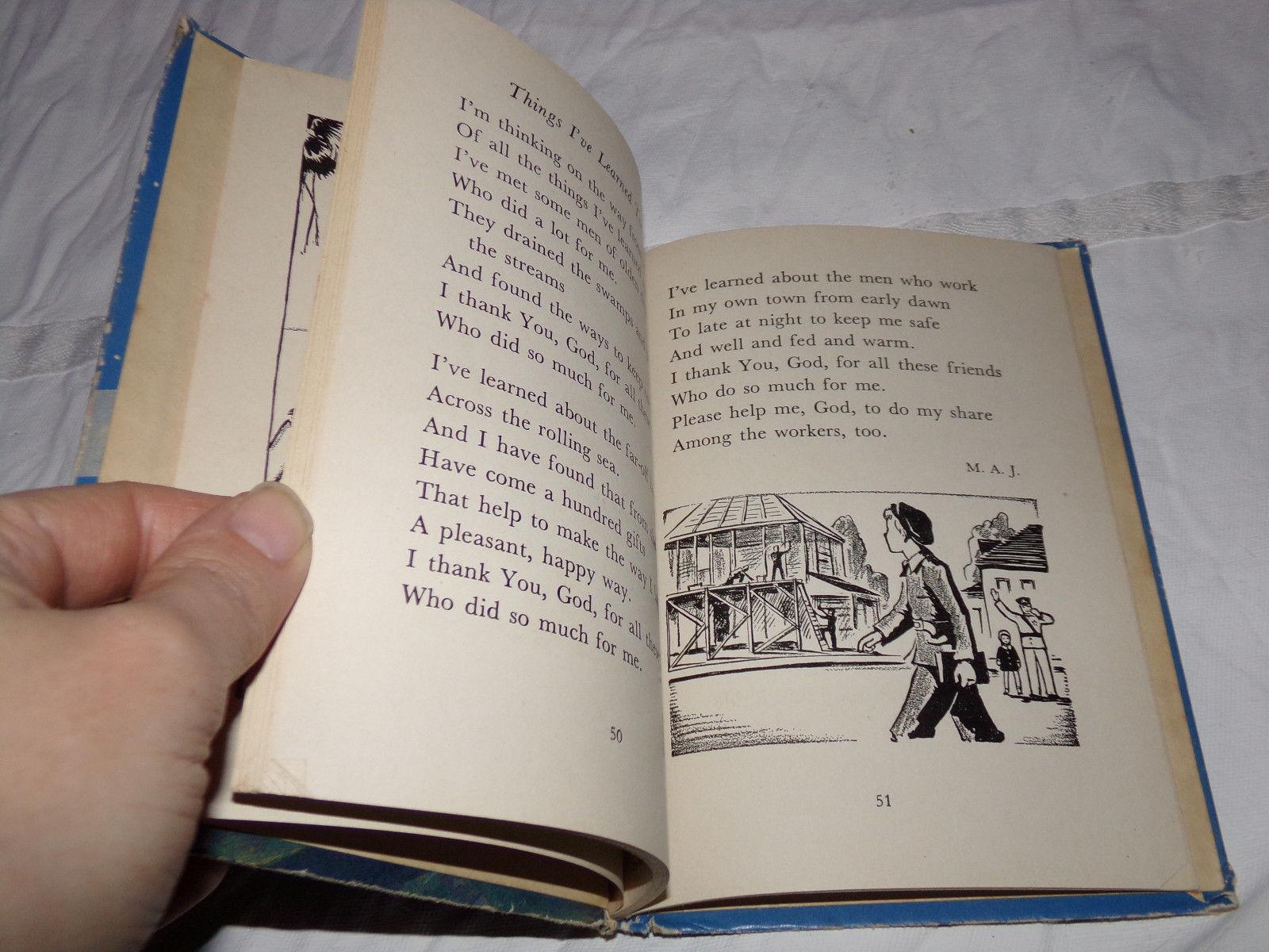 Vtg 1938 MY OWN BOOK OF PRAYERS Illustrated Children's Mary Alice Jones Stoddard
