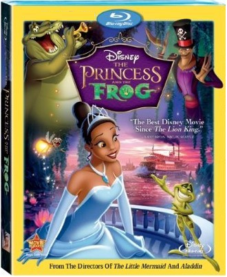 Disney The Princess and The Frog (Blu-ray + DVD)