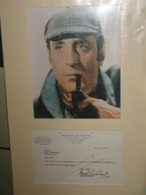 Basil Rathbone matted document. Nice !! Sherlock Holmes. - $325.00