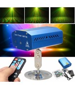 Mini R&G Auto/Voice Xmas Party LED Lamp Laser Stage Light Projector + Re... - $27.89