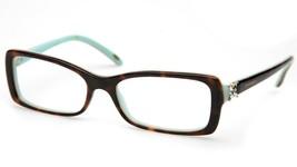 Tiffany & Co. Tf 2091-B 8134 Havana Eyeglasses Frame 53-16-140 B30 Italy - $103.94