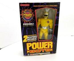 "Masterbotix Power Bots  Chick Action Figure Toy 7"" Yellow Trendmaster  - $12.86"