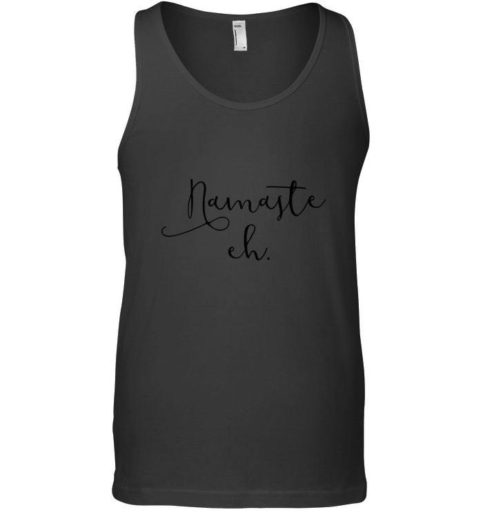 Namaste Eh Yoga Tank Top Short Sleeve Canada Yogi