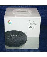 GOOGLE HOME MINI - Google Personal Assistant - Charcoal Brand New Sealed  - $19.55