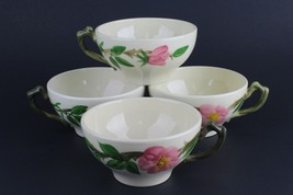 "Franciscan China Desert Rose Tea Coffee Cocoa Mug Cup 2 1/4"" USA Mark - $31.68"