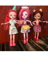Enchantimals Dolls Lot Ever After Monster High Mattel Toy Girl Animal Bu... - $24.74