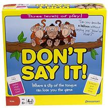 Pressman Don't Say It Where a Slip of The Tongue Can Lose You The Game, 2+ Playe - $12.86