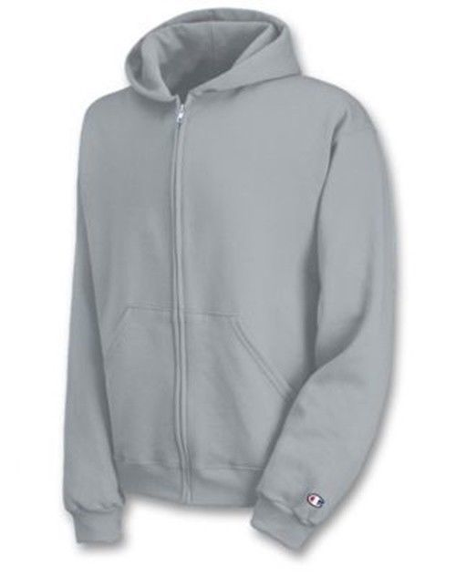Champion Youth Double Dry Action Fleece Full Zip Hoodie - Unisex - 7 COLORS S-XL