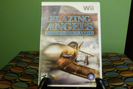 Blazing Angels: Squadrons of WWII (Nintendo Wii, 2007) Near Mint With Ma... - $7.87