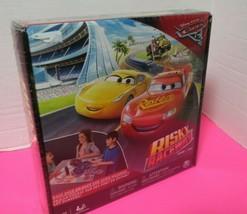 Spin Master Disney Pixar Cars 3 Risky Raceway Board Game New In Sealed Box - $13.86