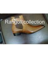 Men Tan Color Ankle Boots, Men Tan color Chelsea Boots, Leather Boots Fo... - $179.99