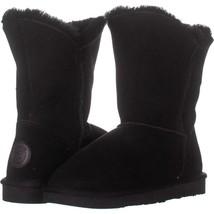 Ash Amazon Platform Ankle Boots 618, Black Leather, 9 US / 39 EU - €75,43 EUR