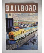 Vintage Railroad Magazine August 1948 Train on Cover - $14.80
