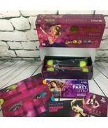 Zumba Fitness Exhilarate Body Shaping System 3 DVD Set Toning Sticks + B... - $18.80