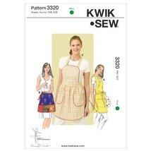 Kwik Sew K3320 Aprons Sewing Pattern, Size One Size - $15.68