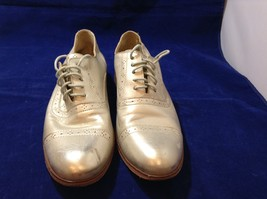 Cole Haan Men's Glittery Gold Shoes Sz 8 Narrow