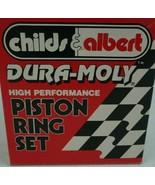 Childs & Albert Dura-Moly Piston Ring Set RS-10393-75 4.035 .043 1/16 316 - $112.17
