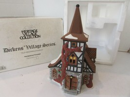 DEPT 56 55620 OLD MICHAEL CHURCH HERITAGE VILLAGE BUILDING WITH CORD  D1 - $19.59