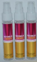 Bath & Body Works Pastèque Limonade Anti-bactérien Main Spray 56ml Lot de 3 - $16.12