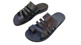 Leather Sandals for Men YAHEL by SANDALIM Biblical Greek Jesus Sandals R... - $46.01 CAD+