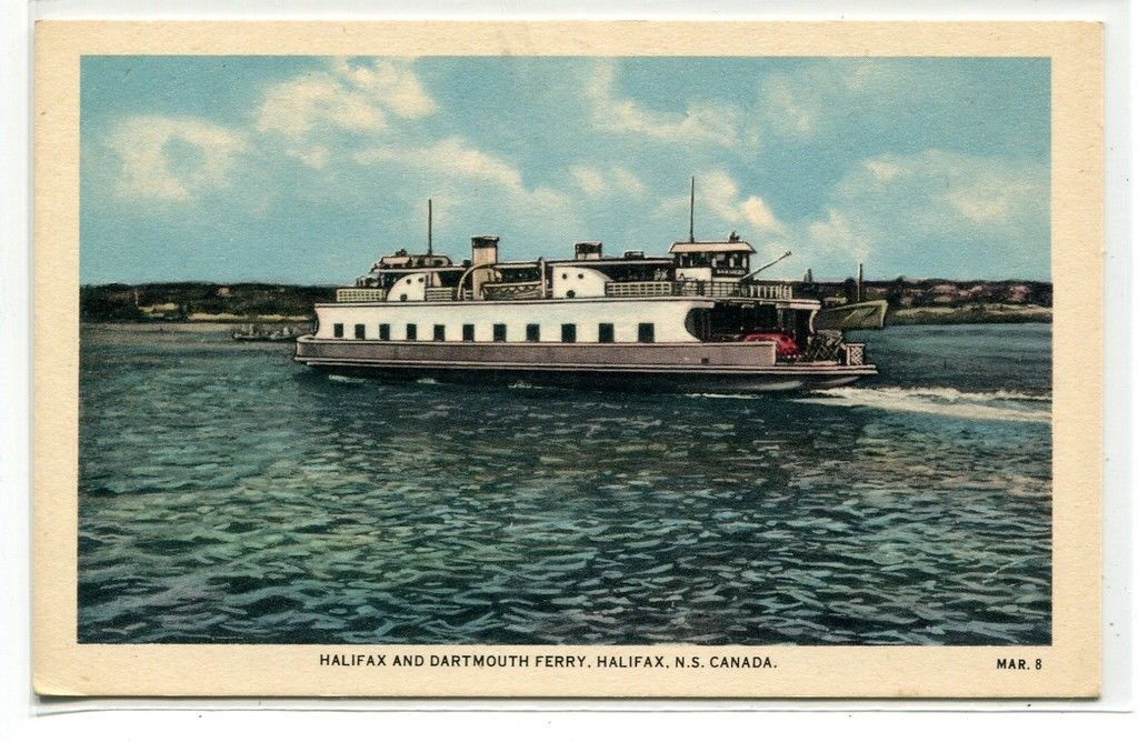 Primary image for Halifax Dartmouth Ferry Boat Nova Scotia Canada postcard