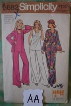 MATERNITY Simplicity #6682 Pattern 1974. Pant Suit Size 14-16 Bust 36-38... - $2.96
