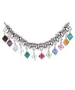 Birthstone Dangle made with Swarovski Crystal for European Charm Bracelet - $8.99