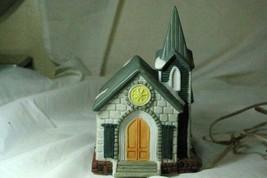 Santa's Best St. Christophers Lighted Church Christmas Figure - $6.92