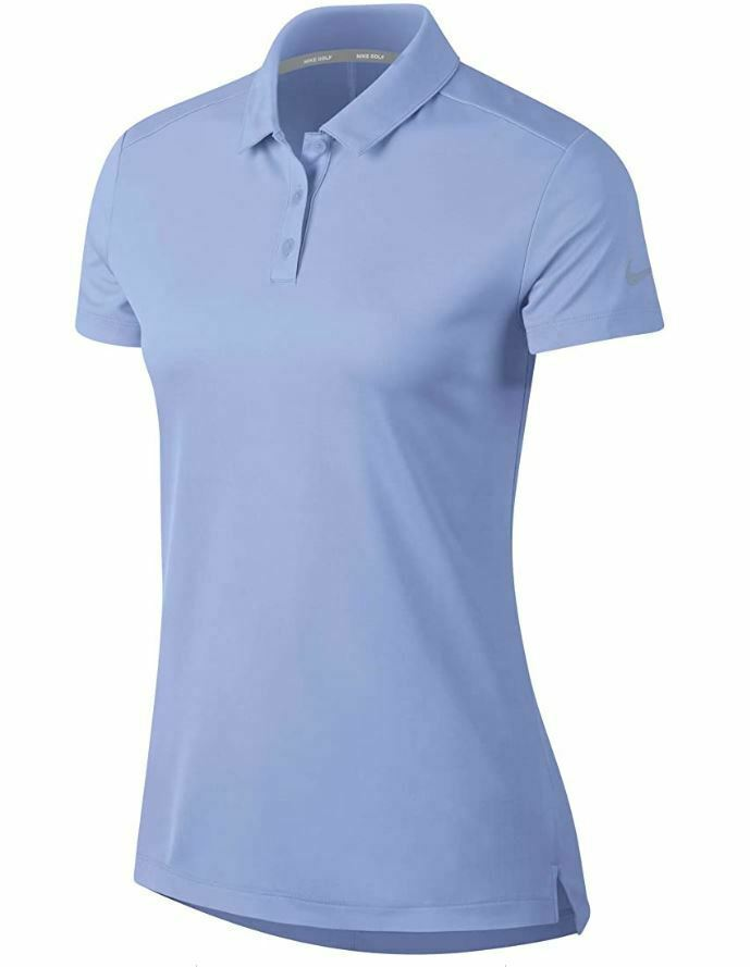 Primary image for Nike Womens Dry-Fit Polo Golf Shirt Light Blue 884871-450 XS Extra Small $55 New