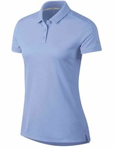 Nike Womens Dry-Fit Polo Golf Shirt Light Blue 884871-450 XS Extra Small... - $30.00