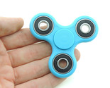spinner edc finger hand spinner focus anxiety stress relief desk toy blue in hand thumb155 crop