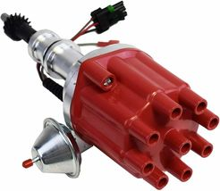 Pro Series R2R Distributor Ford SB Windsor 221 260 289 302 5.0 L 289/302W Red image 3