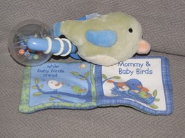 FISHER PRICE REPLACEMENT BLUE GREEN BIRD RATTLE MOMMY FLY HIGH CRINKLE B... - $79.19