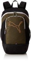 Puma 23 Ltrs Olive Night Shocking Orange Laptop Backpack (7439609) - $51.99