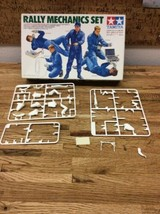 TAMIYA RALLY MECHANICA SET PARTIAL KIT SOLD AS IS FOR PARTS J-1 - $3.95