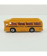 Vintage 1970s Tomy Tomica Yellow Fuso Hato School Bus Made Japan - $28.86