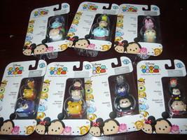 Disney Tsum Tsum Stack 'em Series 2~3PC Lot Of 7 Seaoled Packs 21 Figures - $35.98