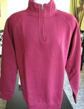 Ouray Sportswear Benchmark 1/4 Zip Fleece Long Sleeve Sweatshirt Men's S... - $33.66