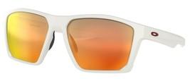 New Oakley Targetline Matte White Prizm Ruby Square Sunglasses [OO9397-0358] - $153.99