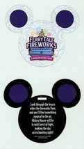 Walt Disney Theme Parks ~ Ferry Tale Fireworks Mickey Vision Glasses - $12.86