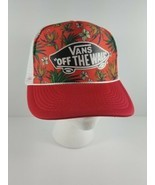Vans Off The Wall Otto Collection Hawaiian Logo Trucker Snapback Mesh Re... - $34.28 CAD