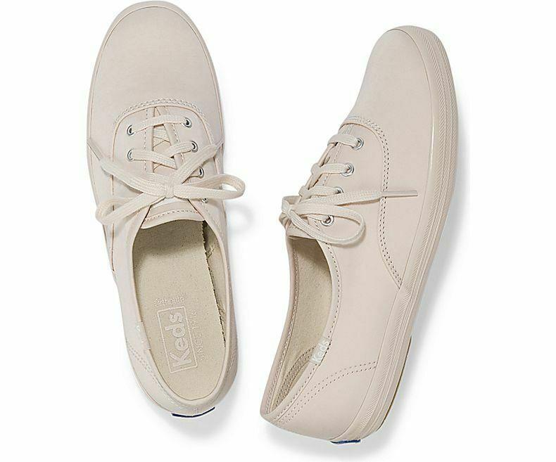 Keds WF59205 Women's Champion Cotton Sateen Petal Pink Shoes, 9 Med
