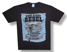 Lynyrd Skynyrd-Last Rebel-2006 Tour-Large Black T-shirt - $13.54