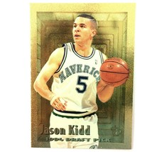 Jason Kidd Rookie Card 1994-95 Topps Embossed Gold Parallel #102 Mavericks  - $7.87