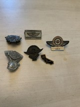 RARE SET OF 6 HARLEY DAVIDSON COLLECTIBLE PINS VINTAGE LIMITED EDITION A... - $179.99
