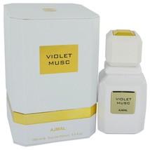 Ajmal Violet Musc Eau De Parfum Spray (unisex) 3.4 Oz For Women  - $125.95