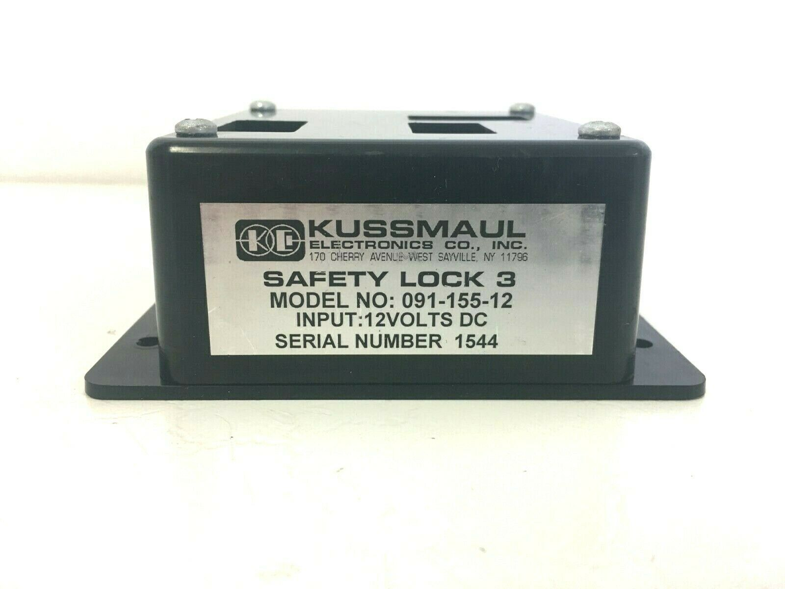 Kussmaul Safety lock 3 model 091-155-12 (8446)