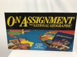 On Assignment With National Geographic Board Game, 1990 - $14.24